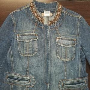 Paris Blues Denim Jacket, Size L